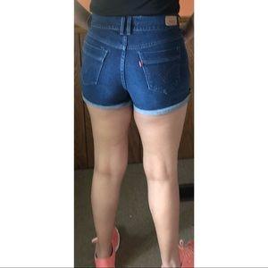 High Rise High Waist Shorts